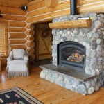 The River Rock Fireplace