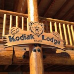 The Kodiak Lodge Sign