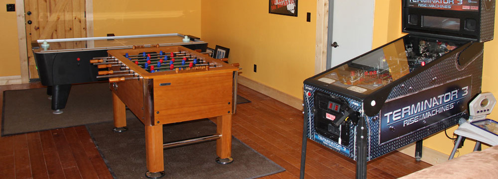 Kodiak Lodge Game Room